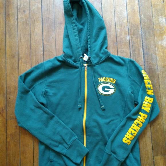 78147987 Green Bay Packers Women Full-zip Hoodie Medium
